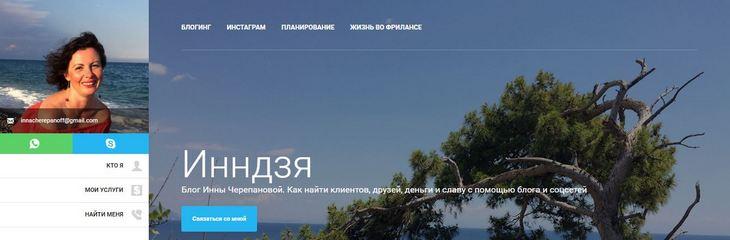 Блог Инны Черепановой. Как найти клиентов, друзей, деньги и славу с помощью блога и соцсетей